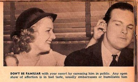 1930s dating tips